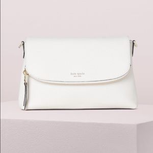 NWT Kate Spade Polly Large Leather Crossbody